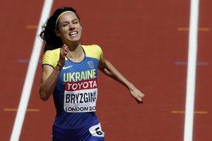 ЧМ в Лондоне: Анастасия Брызгина не попала в полуфинал в беге на 400 метров