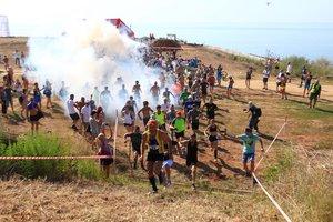 В Одессе сотни любителей экстремального отдыха приняли участие к гонке в 40-градусную жару