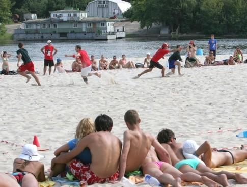 фото довбычка пляж